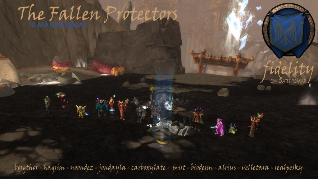 The Fallen Protectors 10 ManNormalFidelity