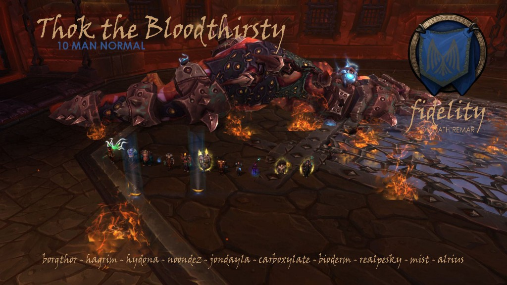 Thok The Bloodthirsty 10 Man Fidelity