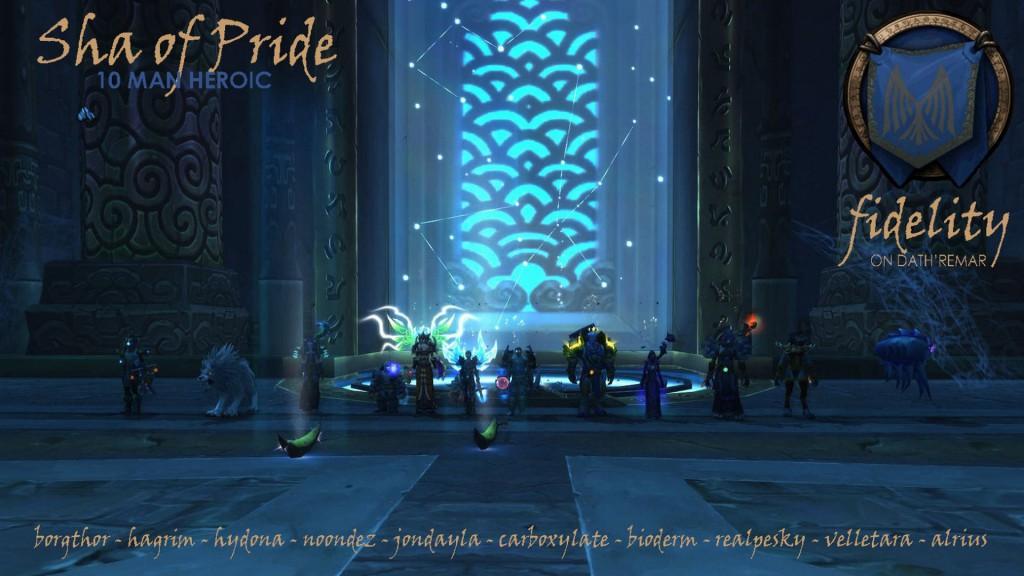 Sha of Pride 10 Man Heroic Fidelity