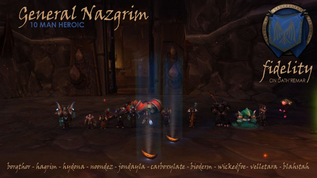 General Nazgrim 10 Man Heroic Fidelity