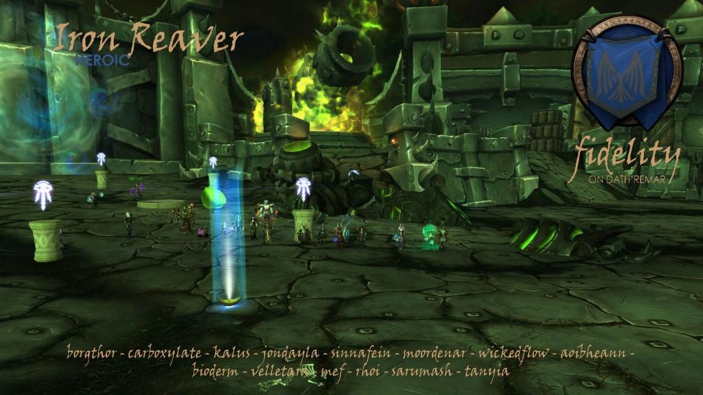 Iron Reaver Heroic Fidelity