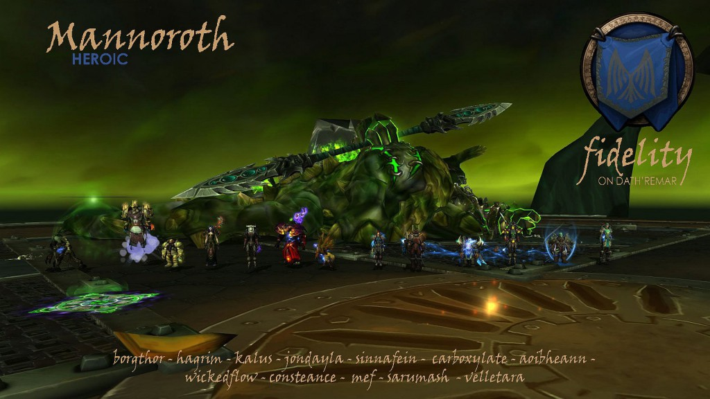Mannoroth Heroic Fidelity