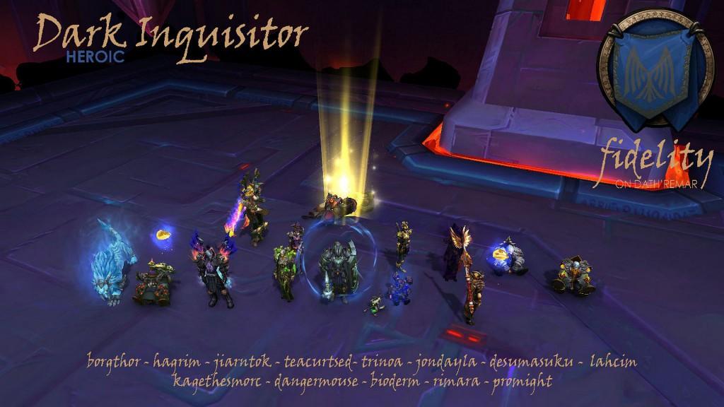 Dark Inquisitor Heroic Fidelity